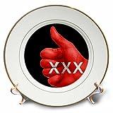 3dRose RinaPiro - Sex Quotes - Sex. - 8 inch Porcelain Plate (cp_266083_1)