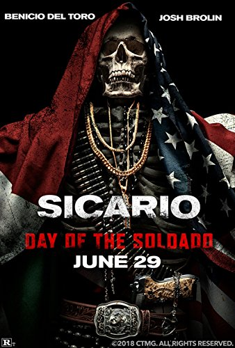 Poster Sicario 2 Soldado Movie 18 x 28 Inches