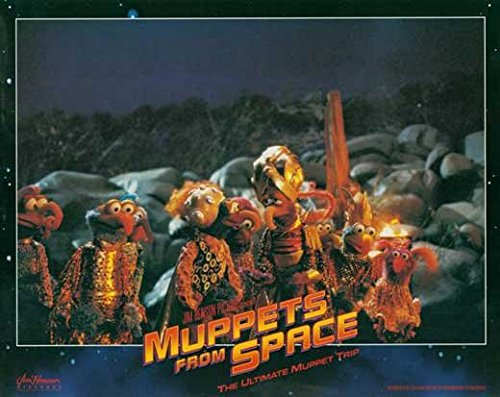 Muppets From Space POSTER Movie (1999) Style F 11 x 14 Inches - 28cm x 36cm (Jeffrey Tambor)(F. Murray Abraham)(David Arquette)(Ray Liotta)(Andie MacDowell)(Rob Schneider)(Josh Charles)