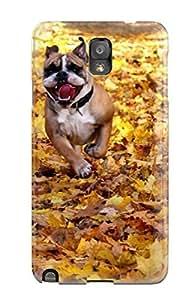 Galaxy Note 3 Case Bumper Tpu Skin Cover For Dog Running Accessories