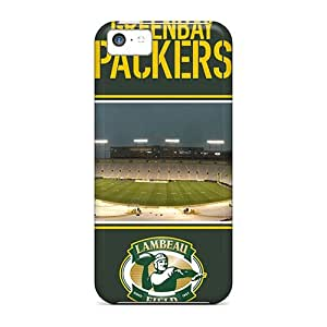 5c Scratch-proof Protection Case Cover For Iphone/ Hot Green Bay Packers Phone Case