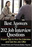 Best Answers to 202 Job Interview Questions, Daniel Porot and Bolles Haynes, 1570232717
