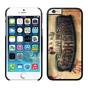 NEW DIY Unique Designed Case For iphone 6 plus Bioshock Infinite 1 iphone 6 plus Black 5.5 TPU inch Phone Case 045
