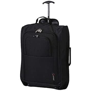 495dddb02c 5 Cities 21 quot  Carry On Hand Luggage Wheeled Travel Trolley Bag for  United Airlines