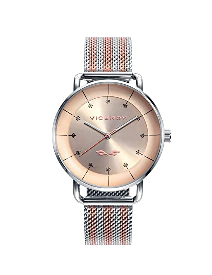 Amazon.com: Viceroy Watch 42360-76 Antonio Banderas Woman Pink Steel: Watches