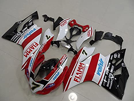 Amazon.com: Moto Onfire Fairing Kit with Full Fairing Bolts ...