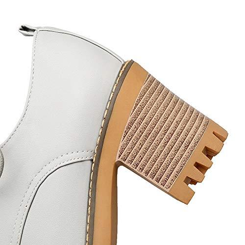 Zapatillas Gris Senderismo para de APL10604 Forro Mujer frío con BalaMasa A1qZw