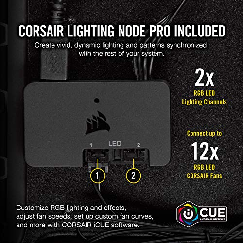 Corsair LL Series LL140 RGB 140mm Dual Light Loop ...