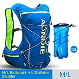POJNGSN Outdoor Camping Hiking Bag Men Women Bicycle Cycling Bags Vest Running Backpack 10L Set E