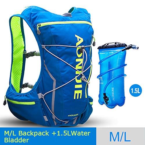 POJNGSN Outdoor Camping Hiking Bag Men Women Bicycle Cycling Bags Vest Running Backpack 10L Set E by POJNGSN (Image #1)