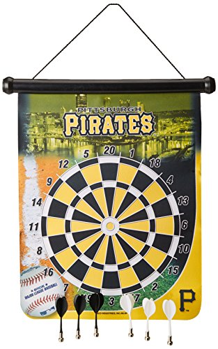 MLB Pittsburgh Pirates Magnetic Dart Board