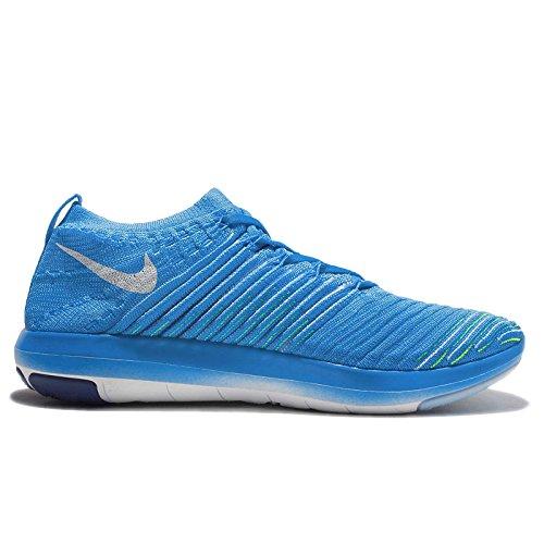 NIKE Women's Free Transform Flyknit Cross Training Shoes Blue Glow/White-deep Royal Blue-racer Blue cheap 100% guaranteed sale perfect countdown package cheap online v0moDCzw