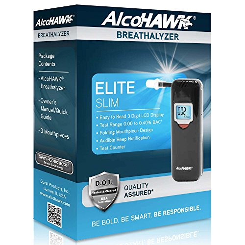 AlcoHAWK Elite Slim Digital Breathalyzer by AlcoHawk (Image #6)