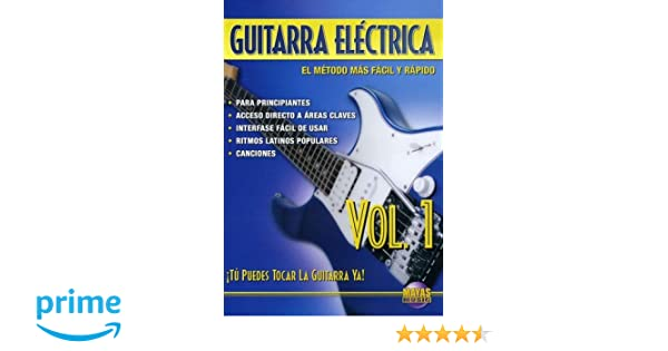 Amazon.com: Guitarra Electrica, Vol 1: Tu Puedes Tocar La Guitarra Ya! (Spanish Language Edition) (DVD): Rogelio Maya: Movies & TV