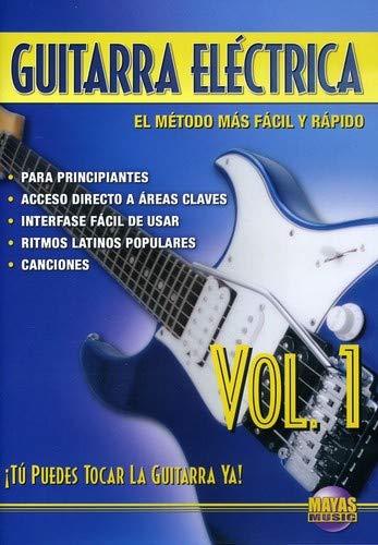 Amazon.com: Guitarra Electrica, Vol 1: Tu Puedes Tocar La Guitarra Ya! (Spanish Language Edition) (DVD): Rogelio Maya: Movies & TV