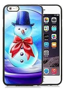 Best Buy iPhone 6 Plus Case,Merry Christmas Black iPhone 6 Plus 5.5 TPU Case 89