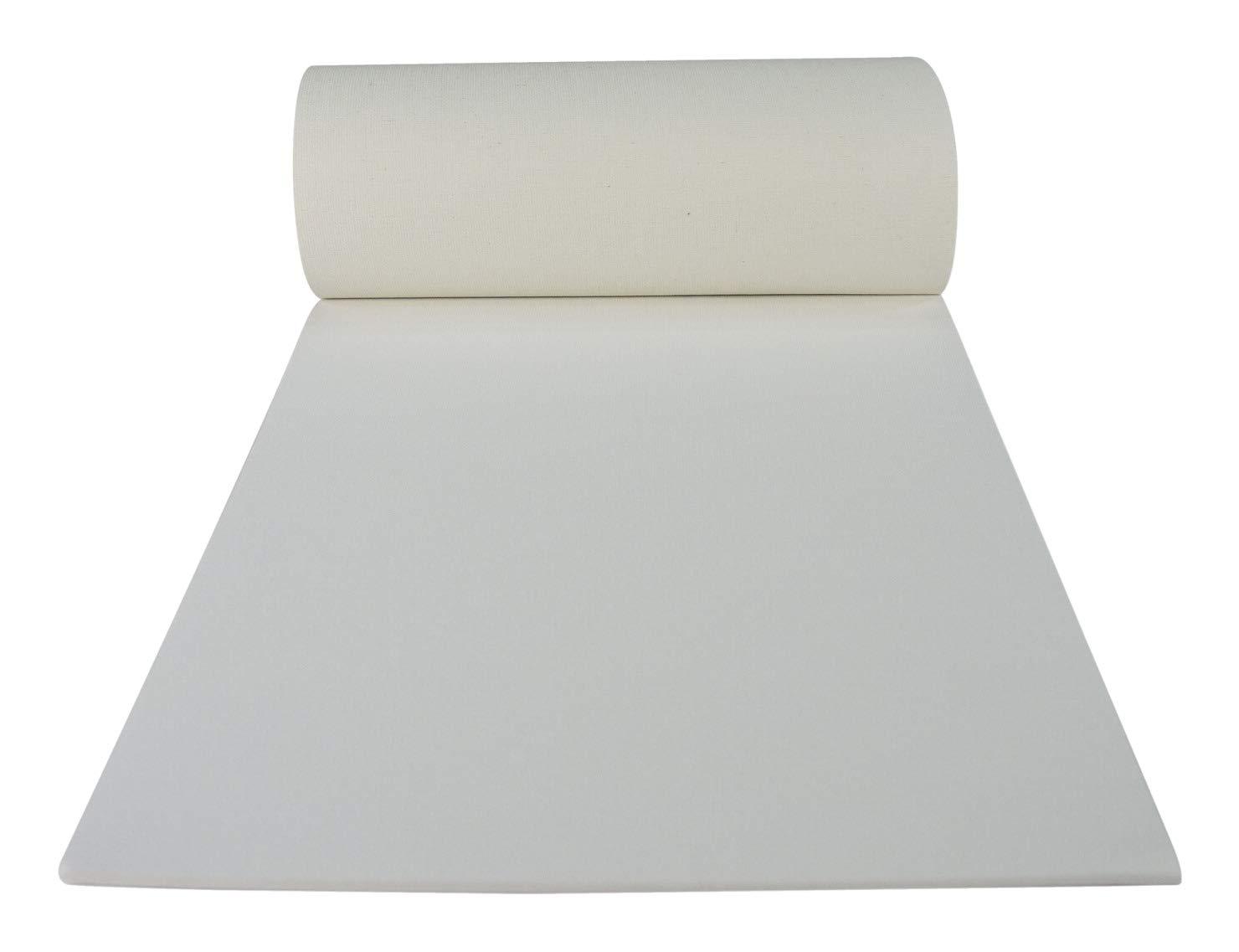 16 x 20 inches 10 Sheets per Pad White Sax Genuine Canvas Pad