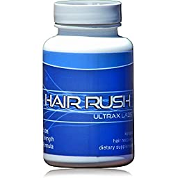 Ultrax Labs Hair Rush DHT Blocking Hair Loss Maxx Hair Growth Nutrient Solubilized Keratin Supplement