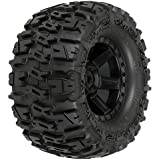 """Proline 117013 Trencher 2.8"""" All Terrain Tires Mounted for Electric Stampede/Rustler, Pair"""
