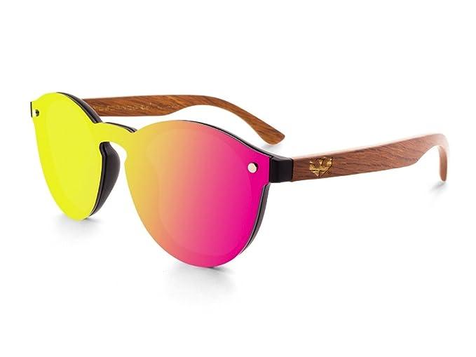Gafas de sol lente plana MOSCA NEGRA modelo MIX FLAMINGO