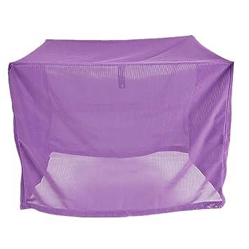 Cubierta de Malla para Mosquitos, Color Morado para Mascotas, jaulas de caseta antimosquitos: Amazon.es: Productos para mascotas