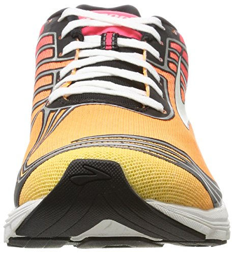 Women's Pink Multicolour Shoes Brooks Orange Pop Running Asteria Caspia 871 Plum Diva 7qwxS5