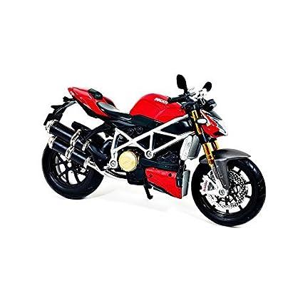 Buy Maisto Car Models Big Bike Ducati Mod Streetfighter Black Red