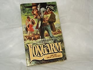 book cover of Longarm and the Great Cattle Kill