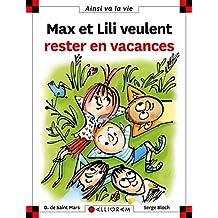 Max et Lili veulent rester en vacances - Nº 118