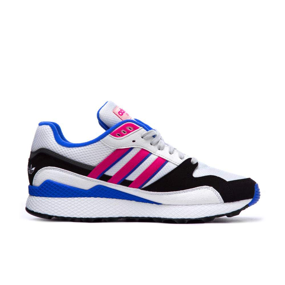 adidas Ultra Tech Mens in Crystal White Shock Pink Core Black  Amazon.co.uk   Shoes   Bags bee0b5ae4