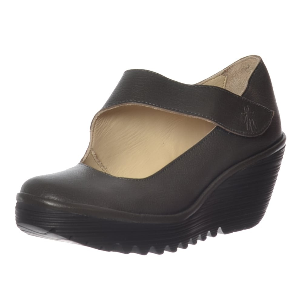 FLY London Women's Yasi682fly Wedge Pump B01M0VS03Q UK6 - EU39 - US8 - AU7'|Nicotine Mousse