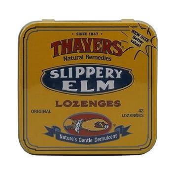 THAYERS Original Slippery Elm Lozenges, 42 CT