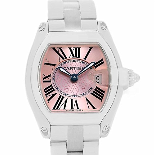 Cartier Roadster swiss-quartz womens Watch W62043V3 (Certified Pre-owned)