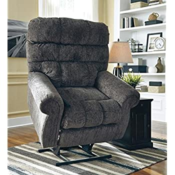 Ashley Furniture Signature Design - Ernestine Power Lift Recliner - Dual Motor Design - Polyester Upholstery & Amazon.com: Ashley Brenyth Power Lift Recliner in Mocha: Kitchen ... islam-shia.org