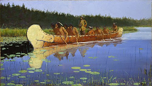 frederic-remington-radisson-and-groseilliers-large-matte-print