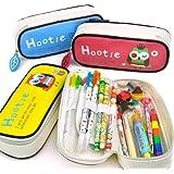 Cool Pencil Case - Hootie the Owl Pencil Case-Blue by CoolPencilCase.com