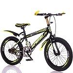 ZTYD-Bambini-Bicicletta-da-22-Pollici-a-velocit-variabile-Mountain-Bike-Sella-Confortevole-Antiscivolo-Pedale-Sicuro-e-sensibile-Freno-Studente-Biciclette-Portatile