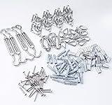 TooTaci Stainless Steel Sun Shade Sails Hardware