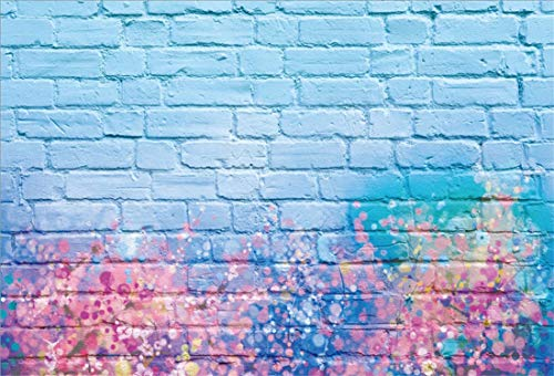 Yeele 7x5ft Brick Wall Photography Background Glitter Colorful