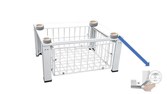 Estructura para lavadora o secadora con amortiguador de ...