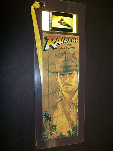 INDIANA JONES RAIDERS LOST ARK Movie Film Cell Bookmark memorabilia (Indiana Jones Movie Memorabilia)