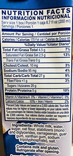 Amazon.com : Alpina Avena Original Oatmeal Smoothie 6.7 Oz (200 ml) Pack of 18 : Grocery & Gourmet Food