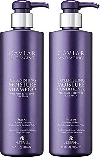 Alterna Caviar Replenishing Moisture Shampoo and Conditioner 16oz by Alterna