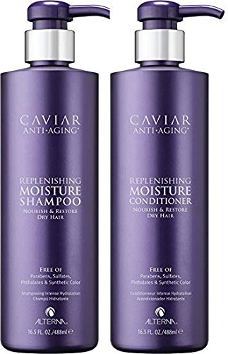 Alterna Caviar Replenishing Moisture Shampoo and Conditioner 16oz