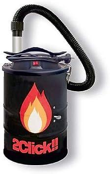 w8022 Firebox cenizas autolimpiable 1000 W Cubo Acero 25 cm Doble ...