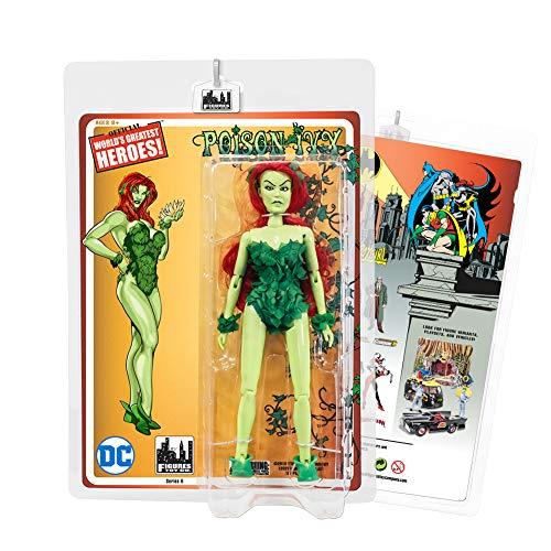 (Figures Toy Company Batman Retro Action Figures Series: Poison Ivy [Green Skin)