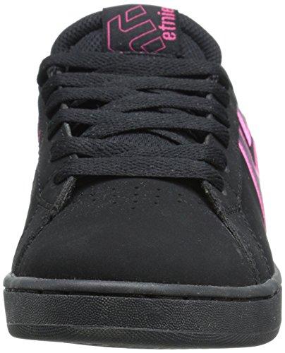 Black da Scarpe Pink Skateboard EtniesFader Pink LS Donna Negro 7gfBYz