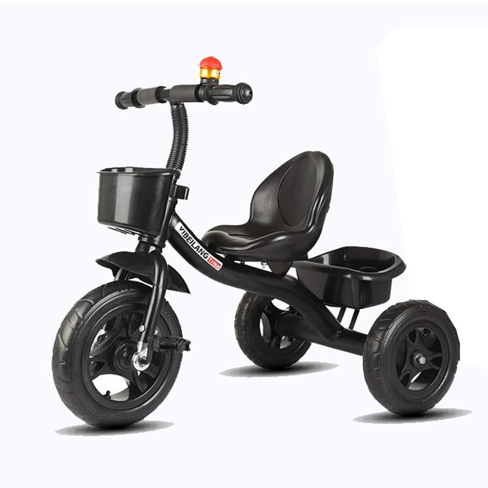 Entrega gratuita y rápida disponible. negro Triciclo de seguridad ajustable para para para niños Baby Balance Bicicletas Bicicletas Bicicletas Niños Triciclos Walker con manija de empuje para la dirección y el juguete Cubo de arena Paseos para niños pequ Un tamaño  Mejor precio
