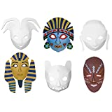 Chenille Kraft Dimensional Multi Cultural Ready to Color Masks