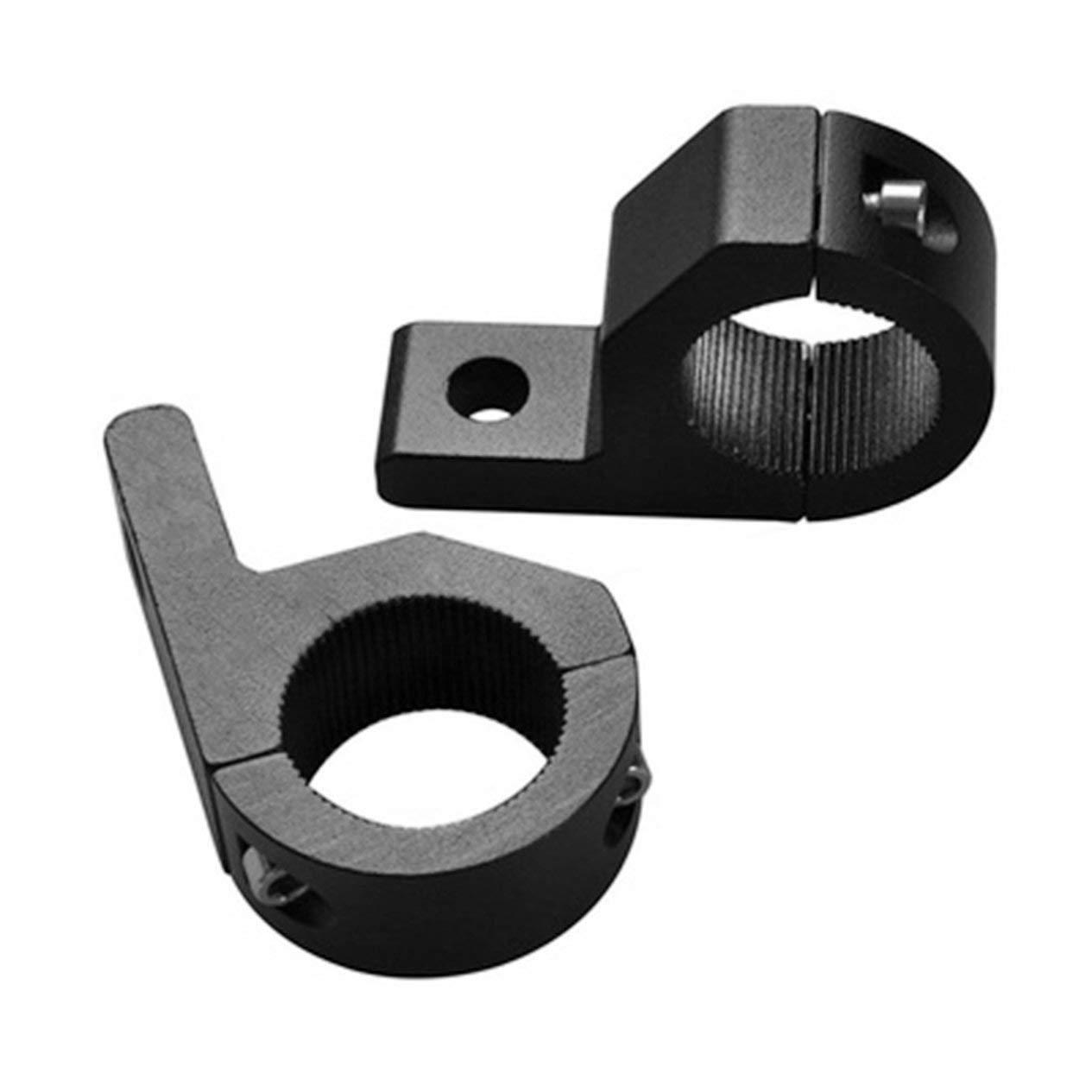 Moto Luz Intermitente Abrazaderas Metal Relocation Tenedor Pinzas Montaje Casquillo para Moto Rueda Delantera Tenedor Bull Bar Soportes